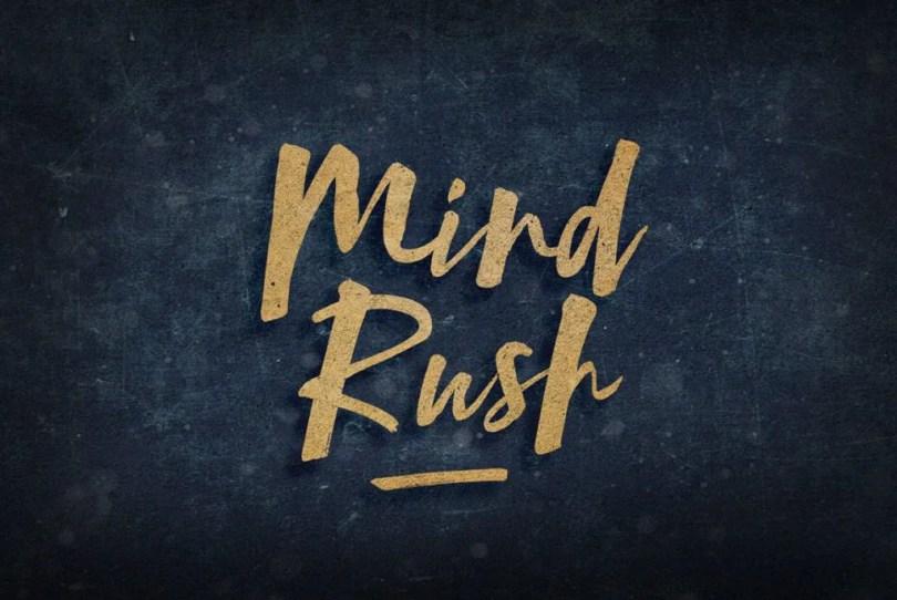 Mind Rush [1 Font] | The Fonts Master