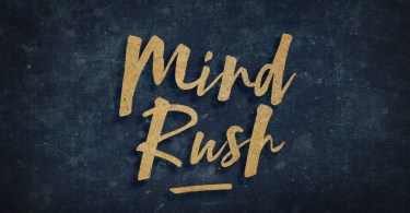 Mind Rush [1 Font] | The Fonts Master