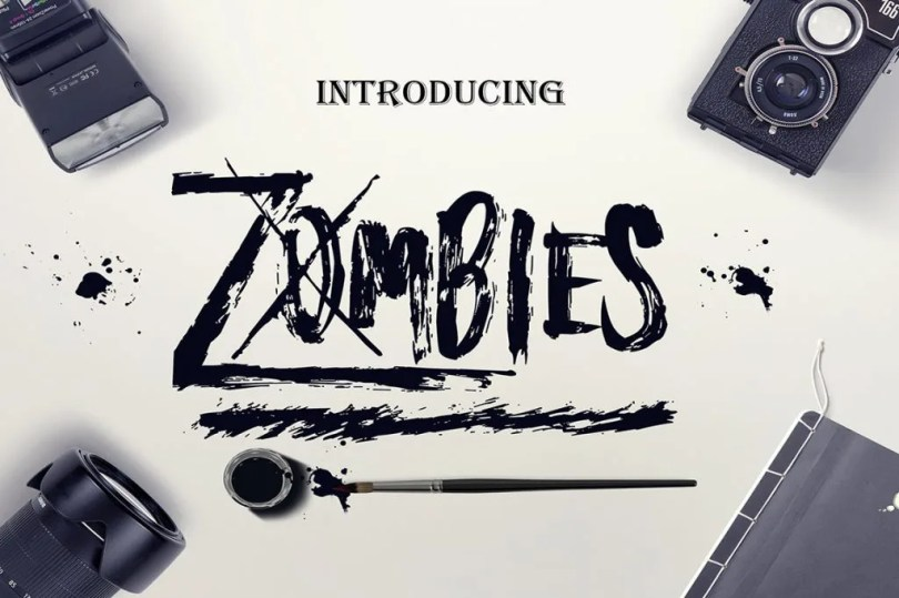 Zombies [1 Font]   The Fonts Master