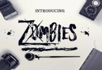 Zombies [1 Font] | The Fonts Master