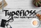 Typefloss [1 Font] | The Fonts Master