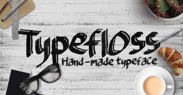 Typefloss [1 Font] | The Fonts Master