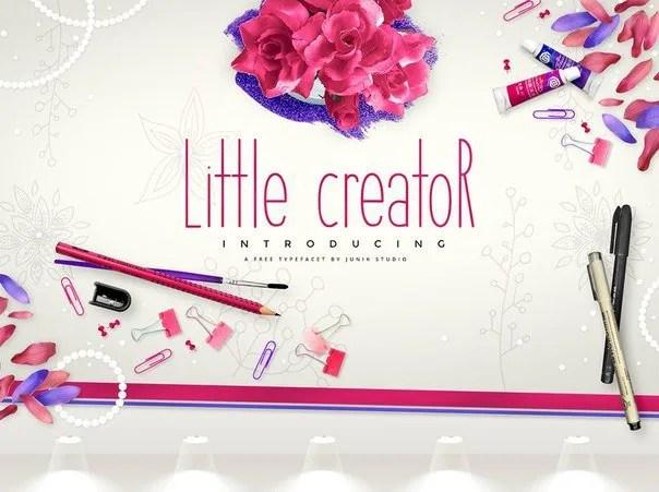 Little Creator [1 Font] | The Fonts Master