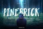 Pinebrick [1 Font] | The Fonts Master