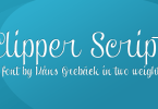 Clipper Script [4 Fonts] | The Fonts Master