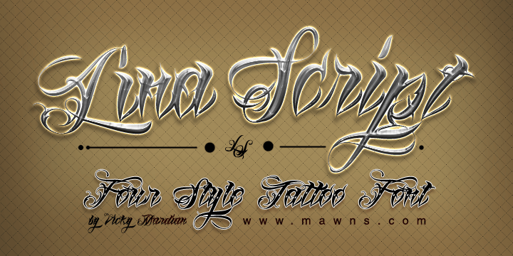 Lina Script Pro [4 Fonts] | The Fonts Master