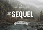 Sequel [1 Font] | The Fonts Master