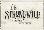Strongwill [2 Fonts] | The Fonts Master