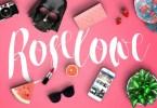 Roselowe [1 Font] | The Fonts Master