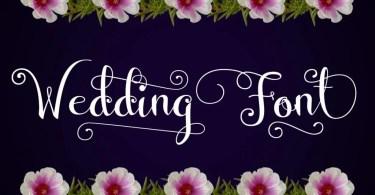 Wedding Font [1 Font]