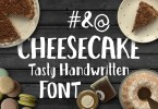 Cheesecake [1 Font] | The Fonts Master