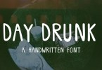 Day Drunk [1 Font] | The Fonts Master