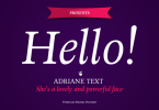 Adriane Text [4 Fonts] | The Fonts Master