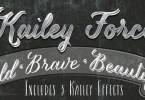 Kailey Force [3 Fonts]   The Fonts Master