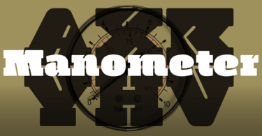 Manometer [2 Fonts] | The Fonts Master