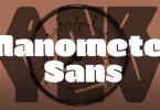Manometer Sans [2 Fonts] | The Fonts Master