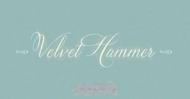 Velvet Hammer [1 Font] - The Fonts Master