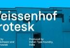 Weissenhof Grotesk [8 Fonts] | The Fonts Master