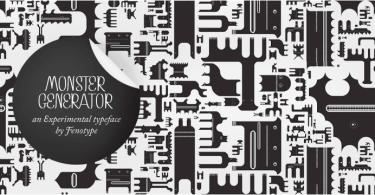 Monster [1 Font] | The Fonts Master