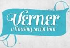 Verner [1 Font] | The Fonts Master