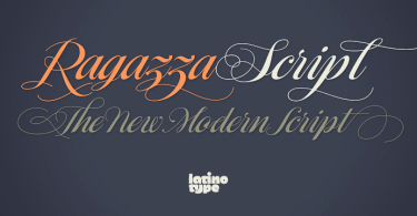 Ragazza Script [1 Font] | The Fonts Master