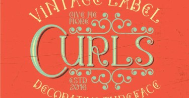 Curls [5 Fonts] | The Fonts Master