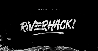 Riverhack [1 Font] | The Fonts Master