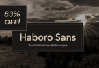 Haboro Sans Super Family [42 Fonts] | The Fonts Master