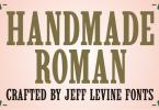 Handmade Roman Jnl [1 Font] | The Fonts Master