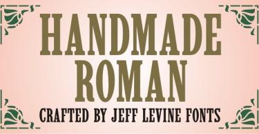 Handmade Roman JNL [1 Font]