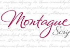 Montague Script [1 Font] | The Fonts Master