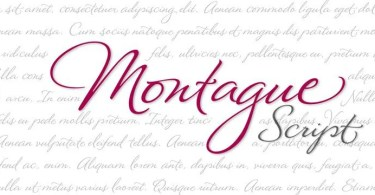 Montague Script [1 Font] | The Fonts Master