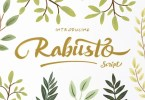 Rabusto Script [1 Font] | The Fonts Master