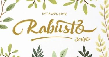 Rabusto Script [1 Font]