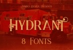 Hydrant [8 Fonts] | The Fonts Master