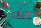 Joker Handmade Typeface [1 Font] | The Fonts Master
