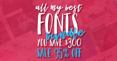 32 Fonts Bundle [42 Fonts] | The Fonts Master