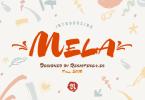 Mela [2 Fonts] | The Fonts Master