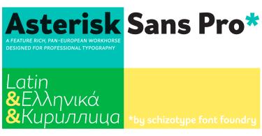 Asterisk Sans Pro Super Family [16 Fonts] | The Fonts Master