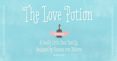 Love Potion [3 Fonts] | The Fonts Master