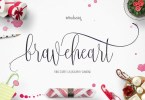 Braveheart [3 Fonts] | The Fonts Master