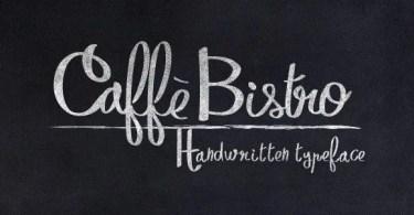 CaffeBistro [1 Font]