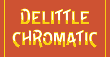 Delittle Chromatic [5 Fonts] | The Fonts Master