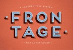 Frontage [5 Fonts] | The Fonts Master