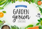Garden Grown [2 Fonts] | The Fonts Master