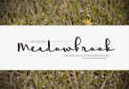 Meadowbrook [1 Font] | The Fonts Master