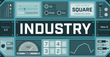 Industry [16 Fonts] | The Fonts Master