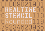Realtime Stencil Rounded [5 Fonts] | The Fonts Master