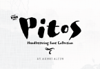 Pitos [4 Fonts] | The Fonts Master