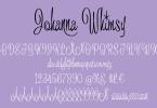 Johanna Whimsy Jf [1 Font] | The Fonts Master